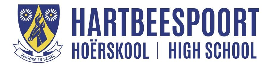 Hoërskool Hartbeespoort High School Logo
