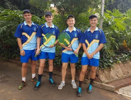 Eerste span tennis