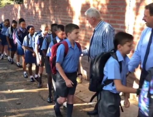 Graad 8's verwelkom | Grade 8's welcomed